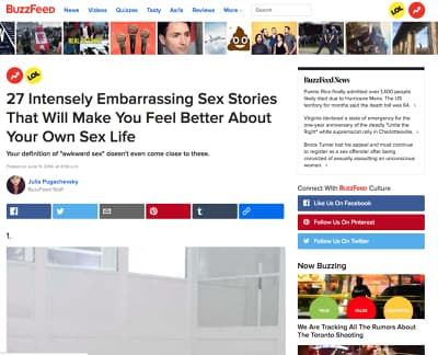 Read Out Top Embarrassing Sex Stories | Xpress.com